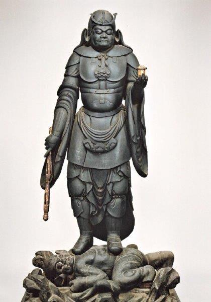 219振り返り①:華厳寺・毘沙門天像