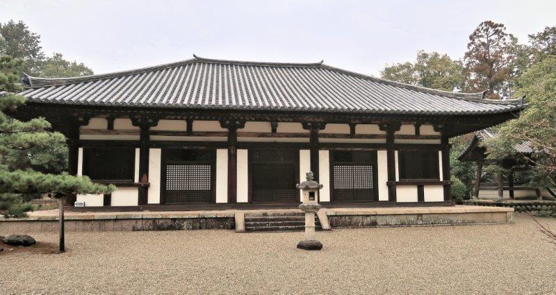 219振り返り①:秋篠寺・本堂