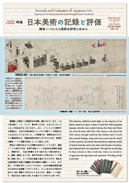 220振り返り②:日本美術の記録と評価展・東博