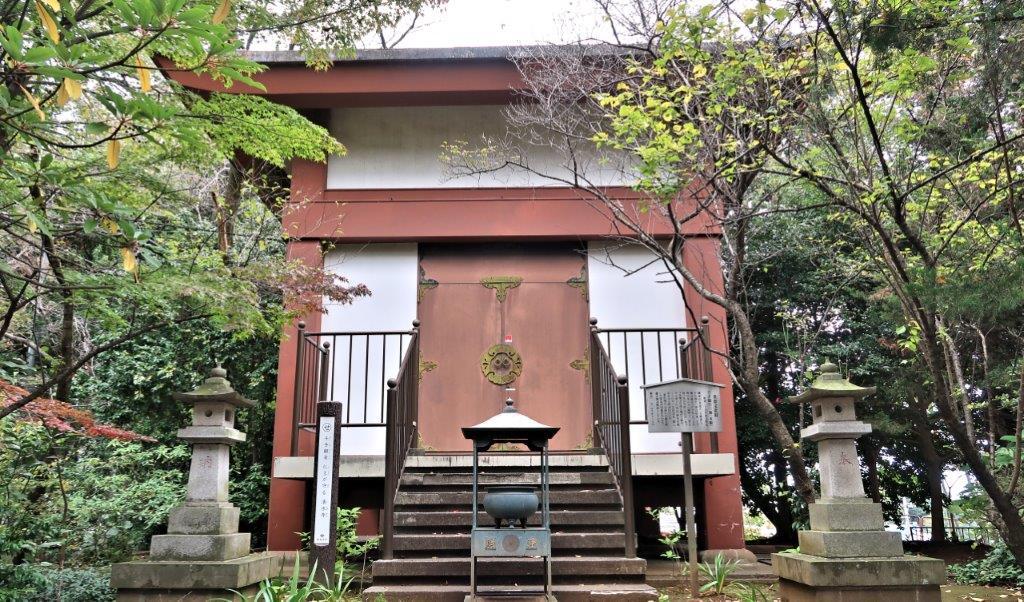 221振り返り③:龍峰寺・千手観音像が安置される収蔵庫
