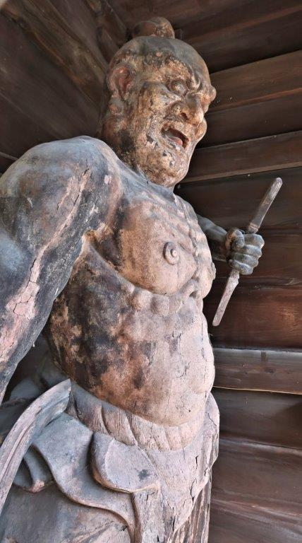 222塩船観音寺:塩船観音寺仁王門・仁王像