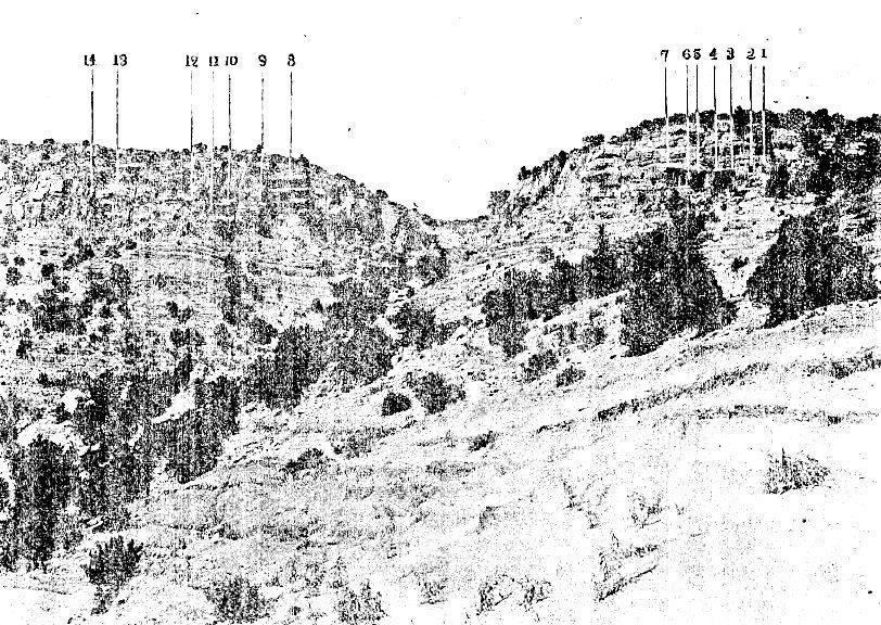 223天龍山石窟①:関野発見当時の天龍山石窟(「国華」論文掲載写真)