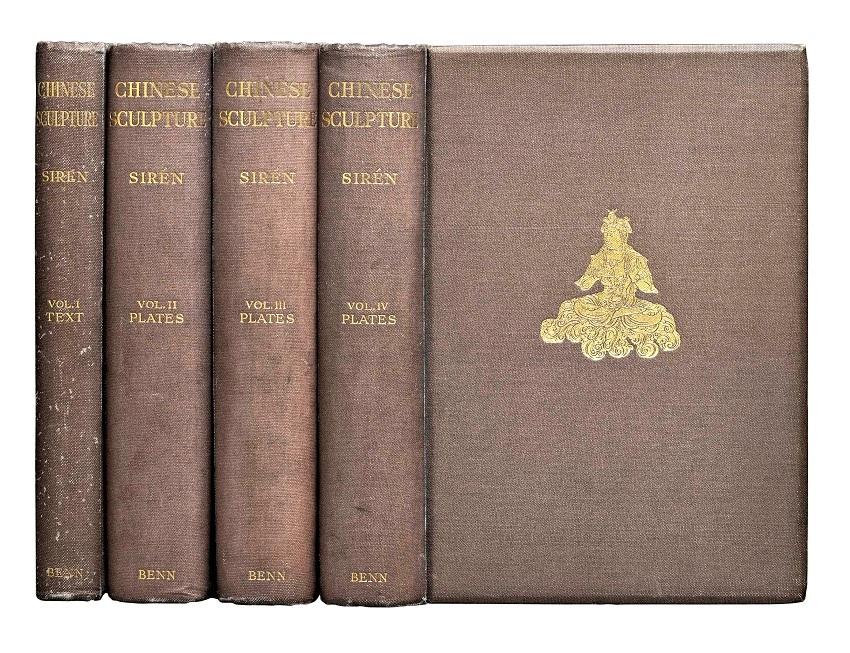 225天龍山石窟③:オズワルド・シレン著「中国彫刻」全4巻1925