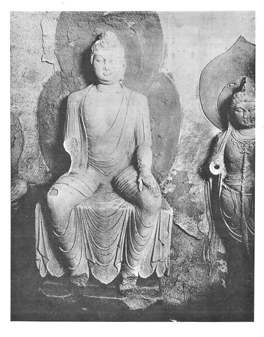 225天龍山石窟③:シレン著「中国彫刻」掲載天龍山石窟写真