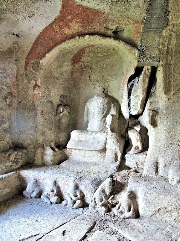 228天龍山石窟⑥:現在の第10窟西壁