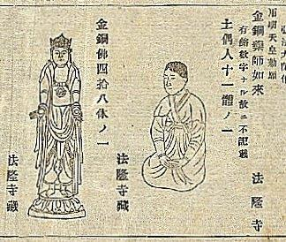229法隆寺展薬師:第1次奈良博覧会目録・薬師掲載箇所