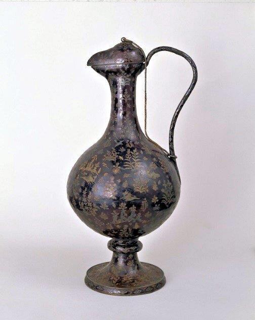 229法隆寺展薬師:正倉院宝物(黒漆水瓶~漆胡瓶)