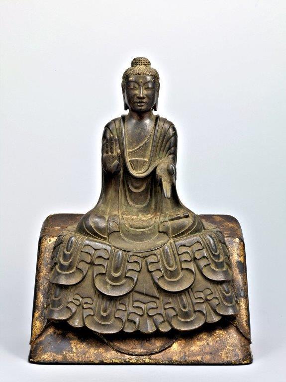 229法隆寺展薬師:東博法隆寺宝物館・如来像