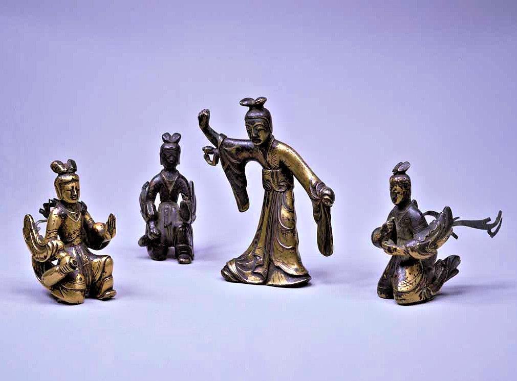 229法隆寺展薬師:東博法隆寺宝物館・摩耶夫人天人像
