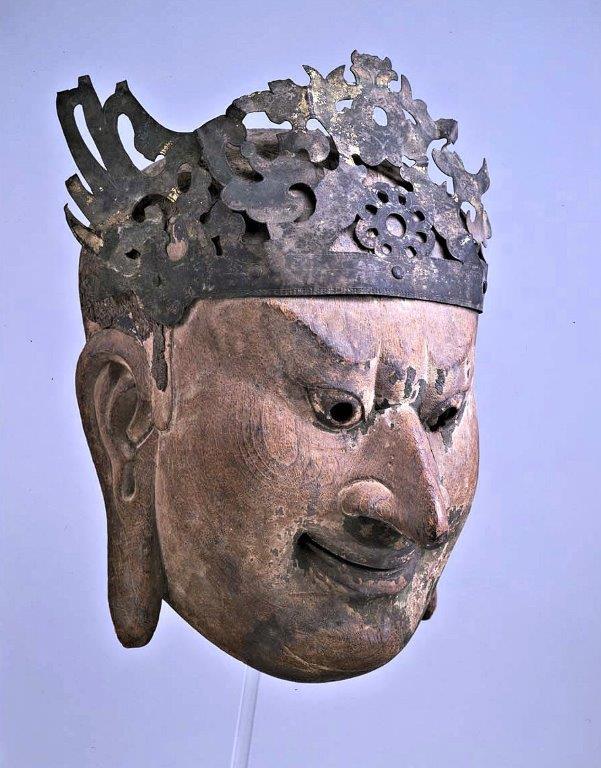 229法隆寺展薬師:東博法隆寺宝物館・伎楽面