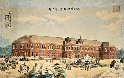 229法隆寺展薬師:明治15年に開館した上野の「博物館」