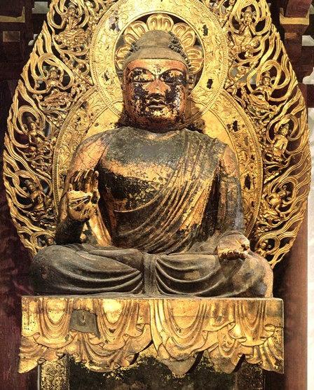 230法隆寺展法起寺:当麻寺・弥勒像(国宝・白鳳時代)
