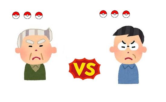 【悲報】ポケモンマスター(56さい)と(55さい)がジムをめぐって争いとなり逮捕