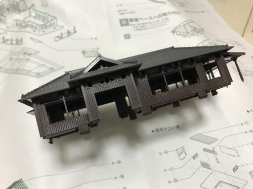 ローカル駅舎 (1)-2