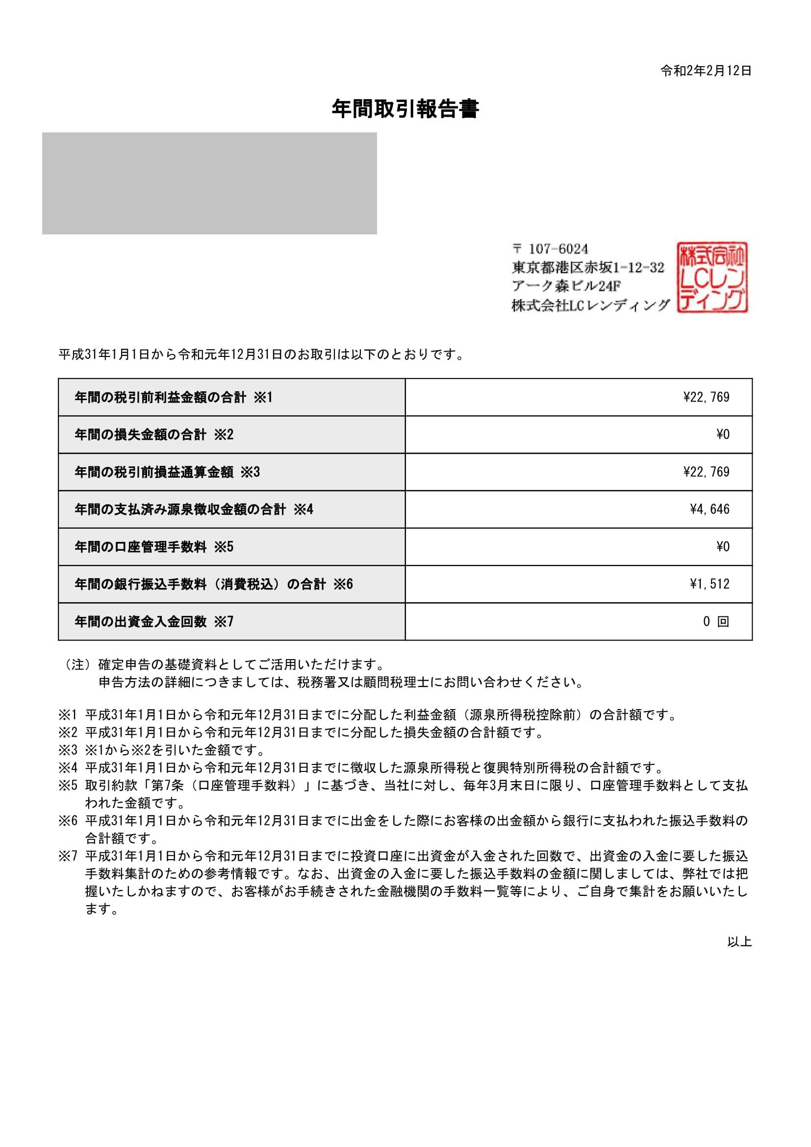 LCLENDING年間取引報告書_353_20200212-1