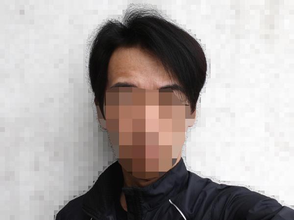 2020年4月の髪の状態、7年と5ヶ月