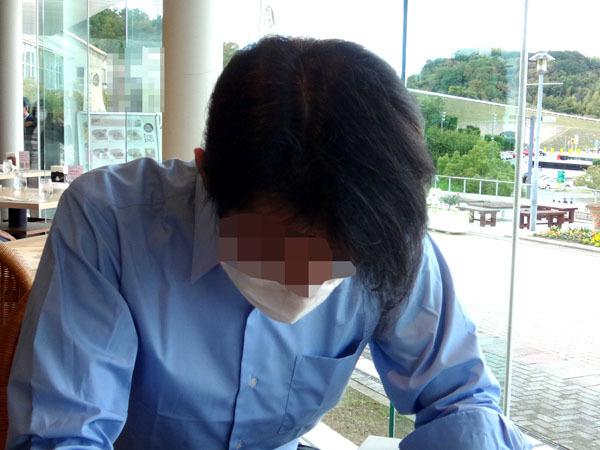 前髪の写真