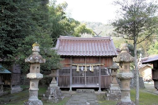 三保神社の拝殿