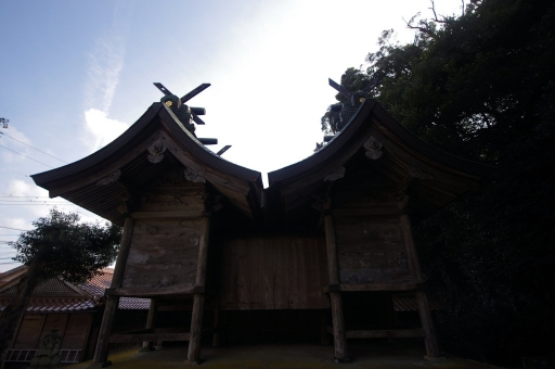 三保神社の御本殿