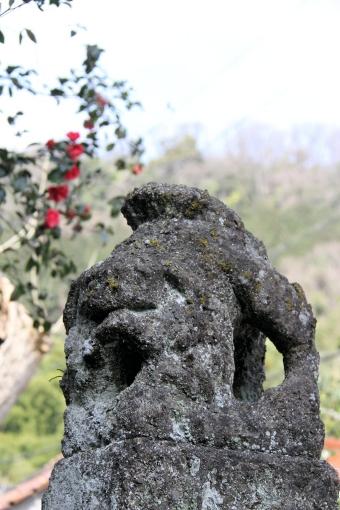 三保神社の狛ワンコ