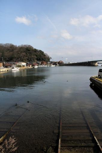 福浦の入り江