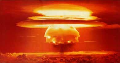 1954年 アメリカの水爆実験