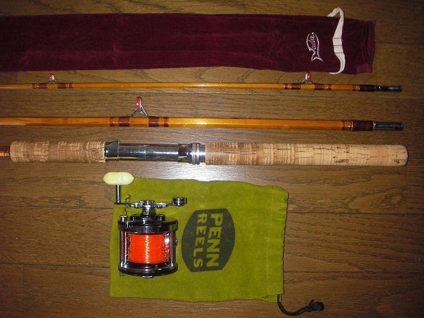 多田釣具製作所 野鯉竿 ペン・サーフマスター100