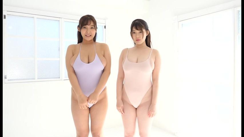 ダブルJカップ 工藤唯・伊川愛梨 キャプチャー
