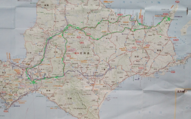 s-ルート地図