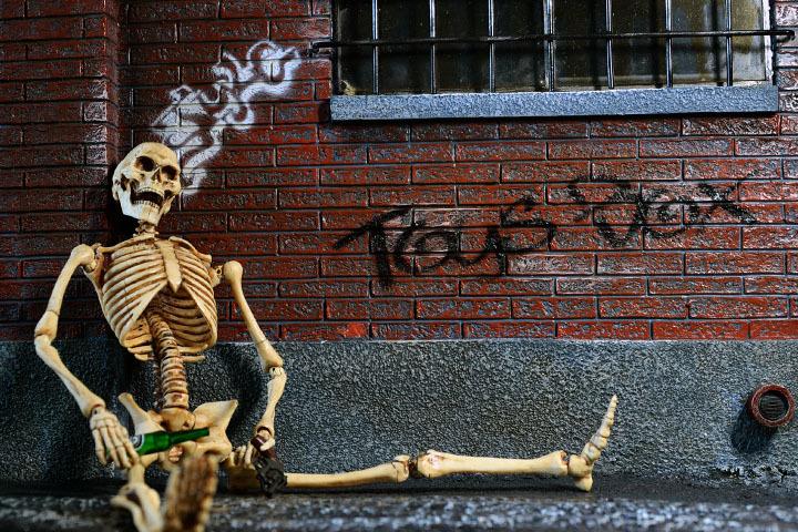 Human Skeleton Body 20 0027