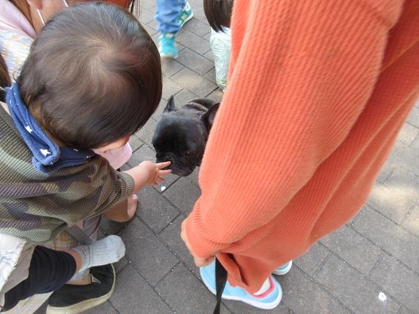 210419up03いつもの保育園児と遭遇おんぶされてる赤ちゃんまでゆずを触るw
