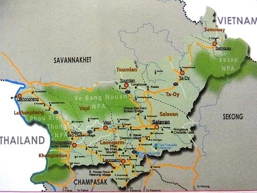 サラワン地図1