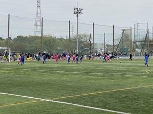 4.2(金)清瀬・被災地交流サッカーフェスティバル写真①