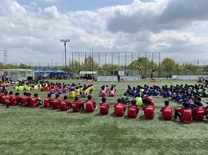 4.2(金)清瀬・被災地交流サッカーフェスティバル写真④