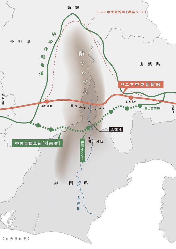 リニア静岡工区ルート地図1607shizuokamap005.jpg