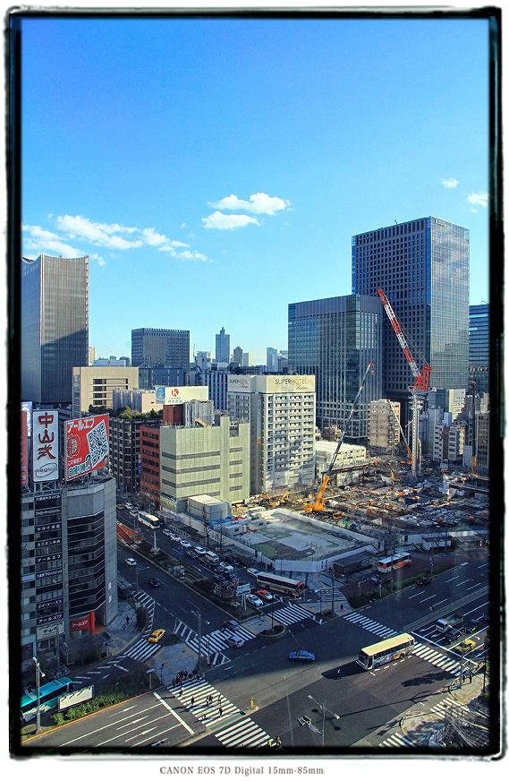 八重洲2丁目北地区建設現場2003tokyosta.jpg