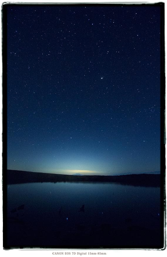大鹿村天空の池の星2006tenkuunoike07.jpg