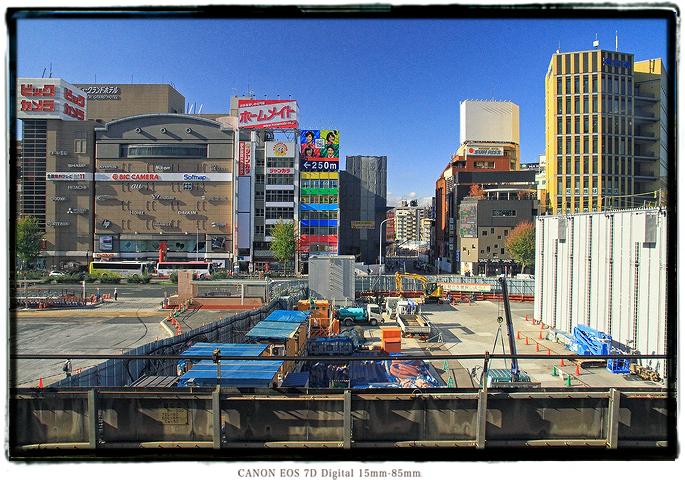 名古屋駅西口の風景比較2012nagoyawest01.jpg