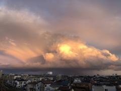大雨時行(たいうときどきふる)