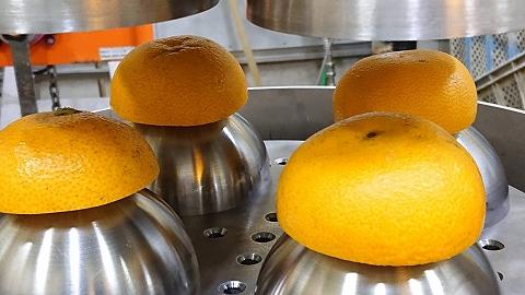 当園のためにさらに高性能の搾汁機械を導入!!