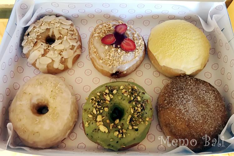 バリ島「Dreamwave Donuts(ドリームウェーブ ドーナツ)」Memo Bali