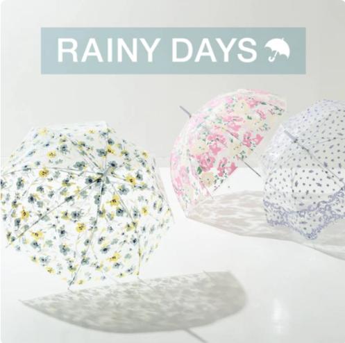 Francfranc(フランフラン)  RAINY DAYS 傘やレイングッズを紹介!