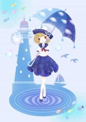雨の女の子