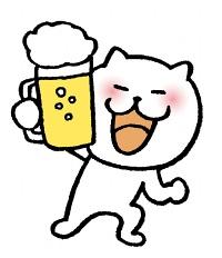 猫 乾杯2