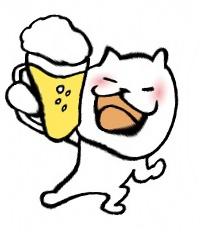 猫 乾杯2-1