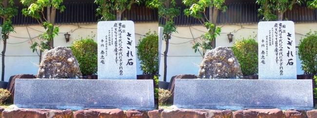大阪天満宮 さざれ石(平行法)