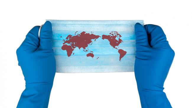 新型コロナウイルス (SARS-CoV-2) の感染による急性呼吸器疾患 (COVID-19) の世界的流行