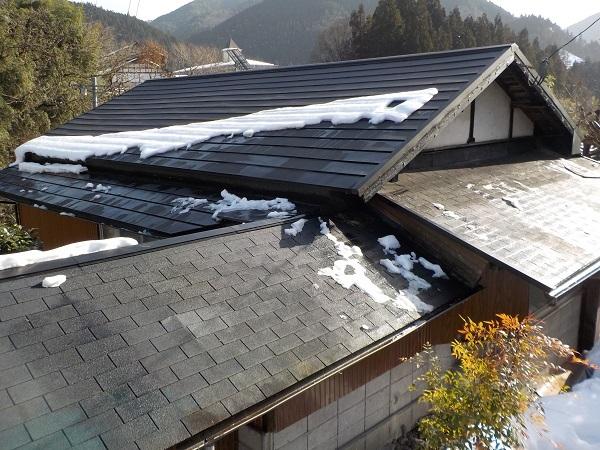 15日の屋根