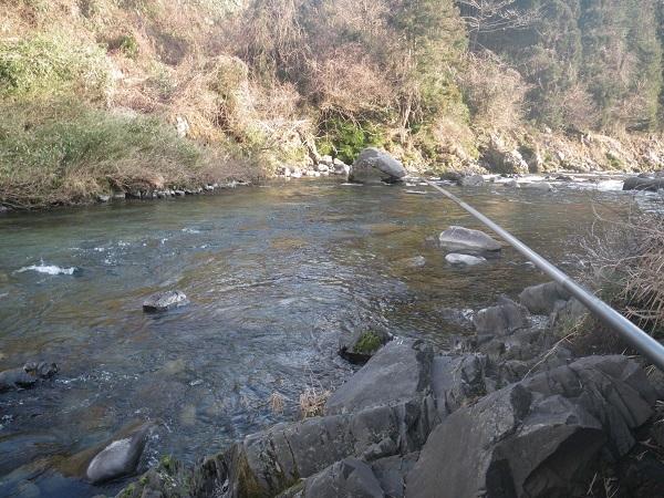 2021年初釣り場