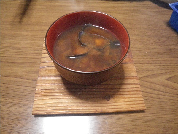 シジミ味噌汁2